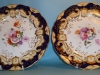 Pair of Samual Alcock dinner plates